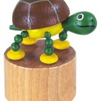 Wooden Turtle Press Puppet