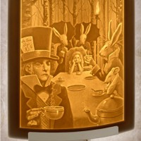 Alice's Tea Party Night Light