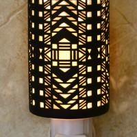 Art Deco Silhouette Night Light