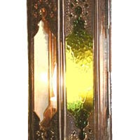 Brass Temple Wall Sconce
