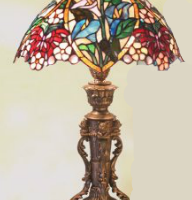 Calla Lily Tiffany Lamp