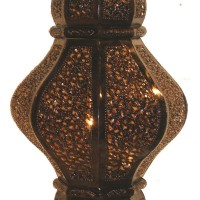 Curvy Moroccan Hanging Lamp