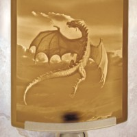 Dragon Flight Night Light