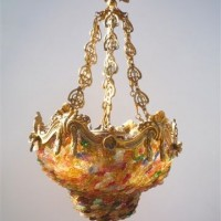 French Baroque Chandelier Coloré
