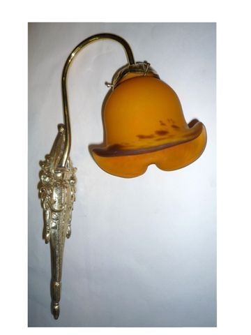 Gold Honey Wall Light