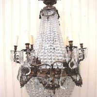 Golden Age Crystal Chandelier