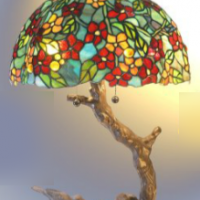 Little Bird Tiffany Lamp