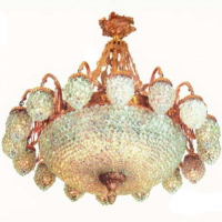 Lutece 16 Light Ballroom Chandelier