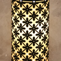 Marrakesh Porcelain Silhouette Lamp