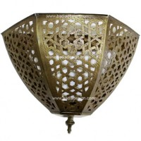 Moroccan Brass Wall Sconce