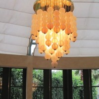 Murano Crystal Ball Chandelier