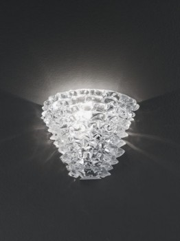 Murano Ice Glass Sconce