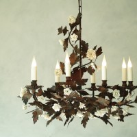 Oak Leaf Chandelier