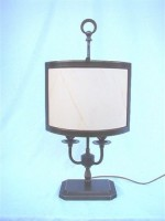 Parchment Shaded Desk Lamp