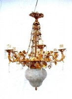 Petit Trianon Bronze Chandelier