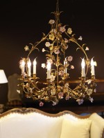 Porcelain Carriage Chandelier