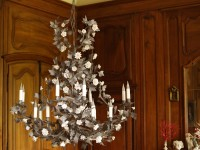 Porcelain Forest Chandelier