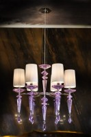 Purple Rain Chandelier