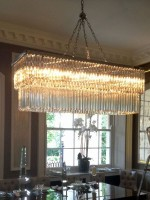 Rectangle Murano Chandelier