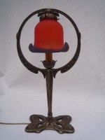 Red Butterfly Lamp