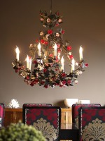 Red Porcelain Chandelier