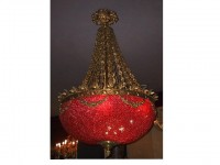Red Riviera Ballroom Chandelier