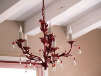 Red Zephyr Chandelier