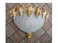 Rosettes Blanches Wall Lamp