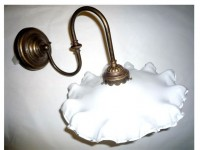 Ruffled Skirt Wall Lamp