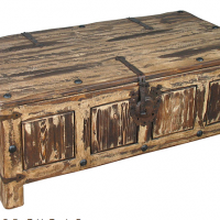 Rustic Coffee Table Trunk