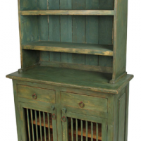 Sage Brush Green Kitchen Hutch