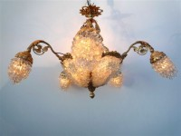 Salon Bronze Chandelier