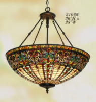 Tiffany Bowl Chandelier