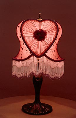 Victorian Table Lamp 109, detail