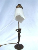 White Venus Lamp