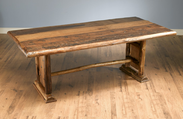 Rustic Lodge Dining Table Cottage Industry